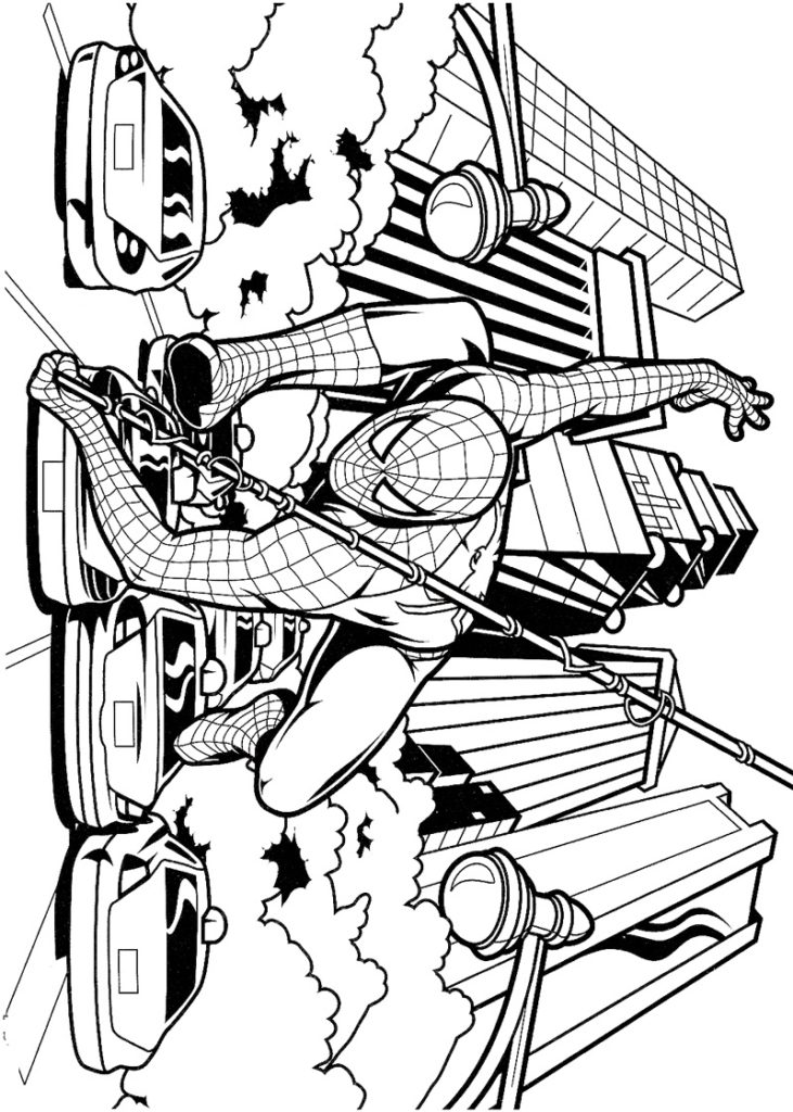 Человек паук - погоня