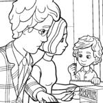 Раскраска Дим Димыч и родители