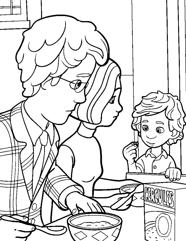 Дим Димыч и родители