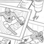 Фотоколлаж Человек-паук
