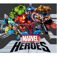 раскраски супер герои Марвел