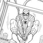 Человек паук в окно