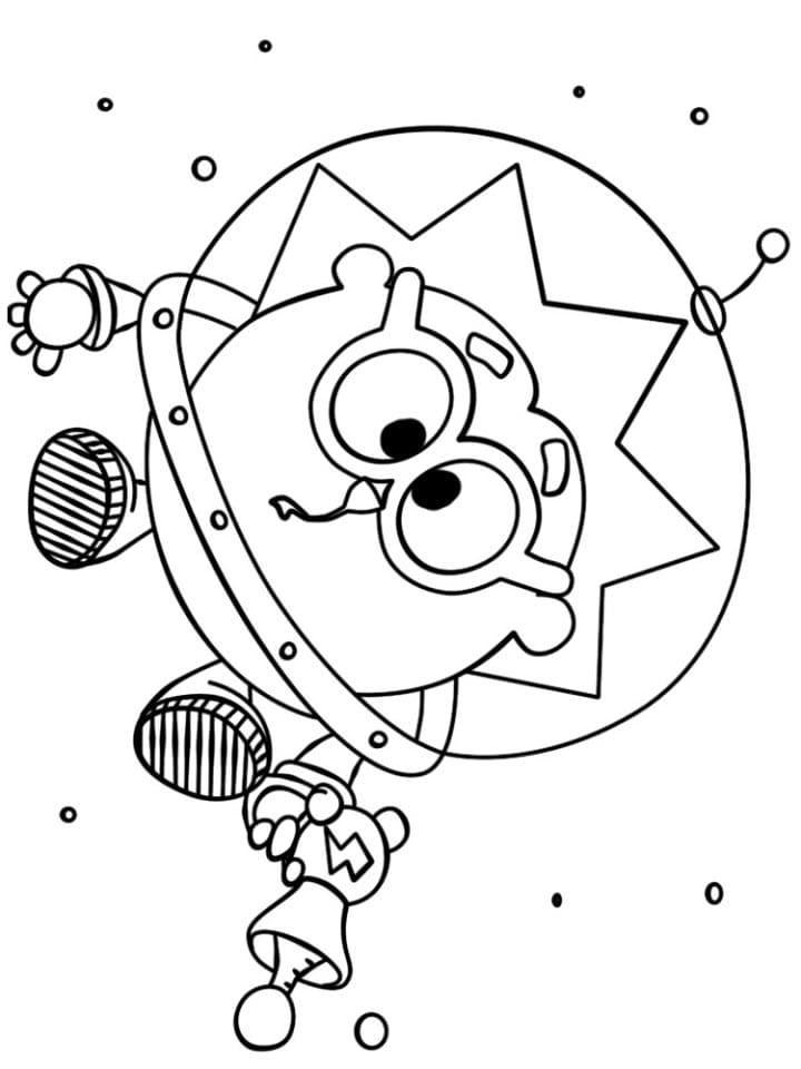 Ёжик - космонавт