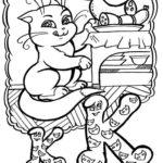 Буква К с котиком