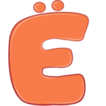 Раскраска буква Ё