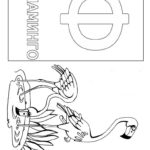 Буква Ф фламинго