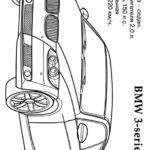 Раскраска БМВ 3 серии