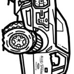 Раскраска Форд Раптор