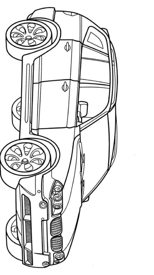 Раскраска БМВ X3