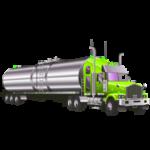 Раскраска машина бензовоз Цистерна