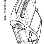 Раскраски машины опель Астра купе X-treme