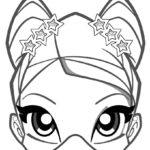 Раскраски маска Винкс
