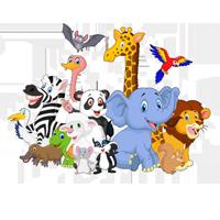 Раскраски про животных