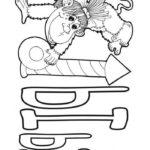 Буква раскраска Ы мартышка
