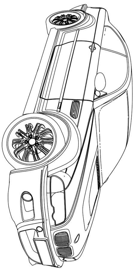 Раскраска БМВ М5
