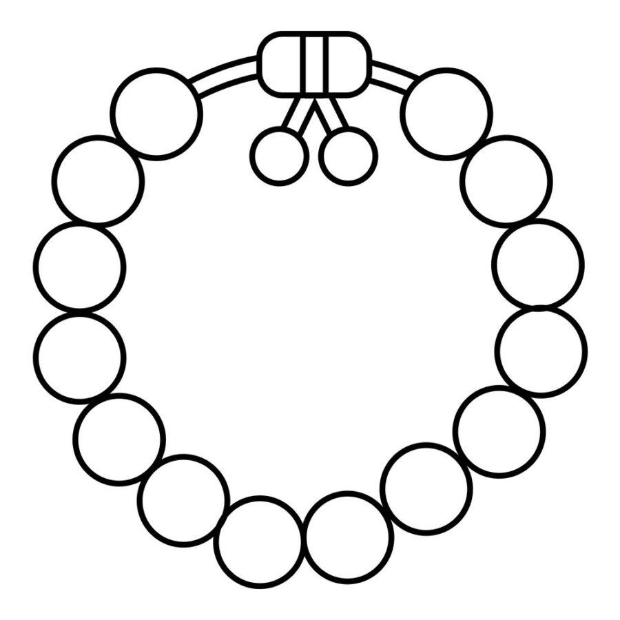 Раскраска браслет