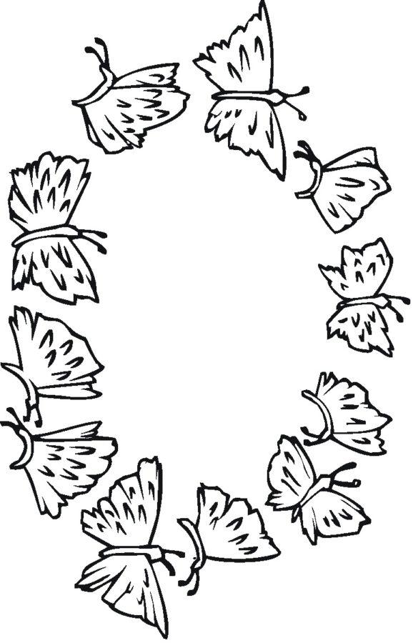 Много бабочек