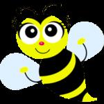 Раскраска пчела для детей