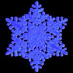 Раскраски снежинка