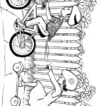 По деревне на велосипеде
