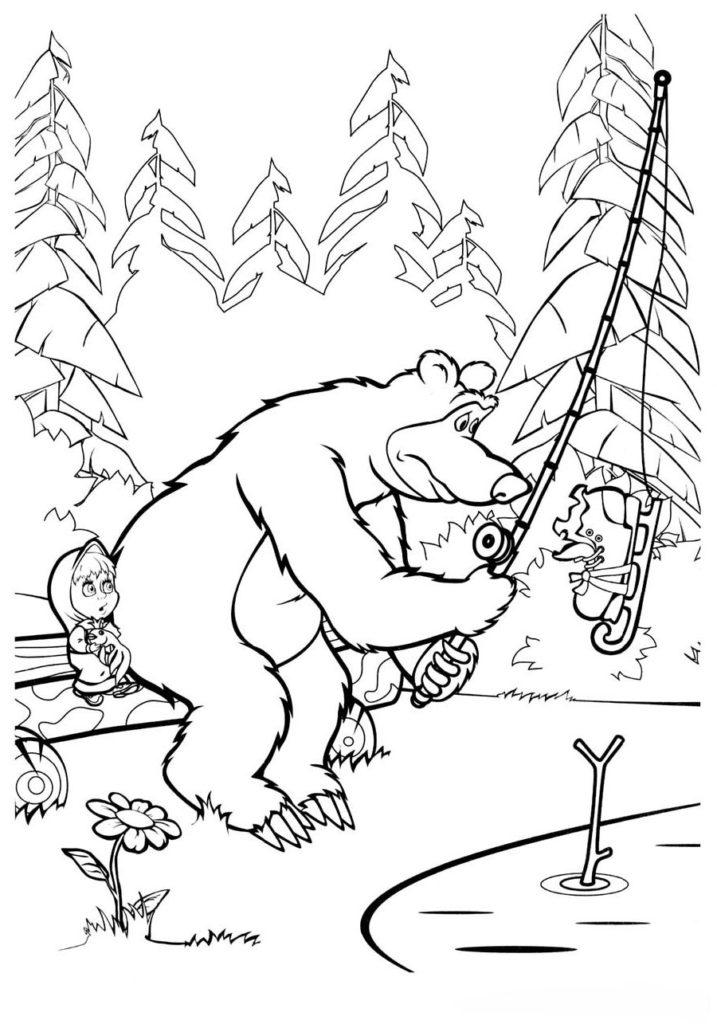 Улов медведя