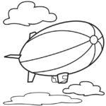 Дирижабль в облаках