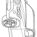 БМВ X1 раскраска