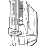 Раскраска БМВ е34