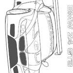 Раскраски БМВ z4 gt3